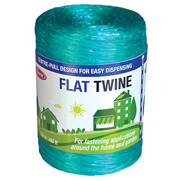 Flat Poly Twine - 495 ft  roll