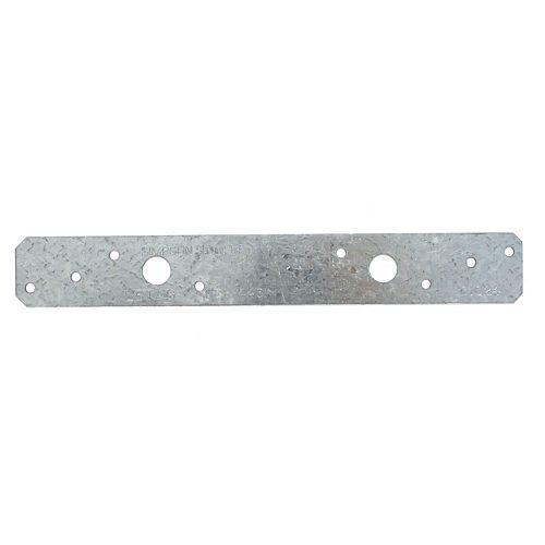 Simpson Strong-Tie LSTA 1-1/4 inch x 9 inch 20-Gauge Galvanized Strap Tie
