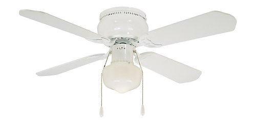 Thd littleton ceiling fan in white 42 inches the home depot canada littleton ceiling fan in white 42 inches mozeypictures Choice Image