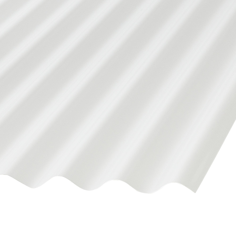 Formato PDF Corrugated PVC 8 Ft White Opaque Roofing Panels