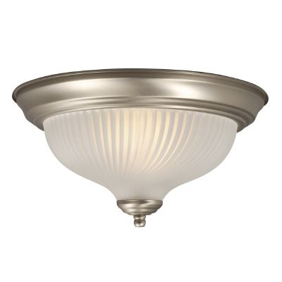 Ceiling Fixture With Frosted Glass