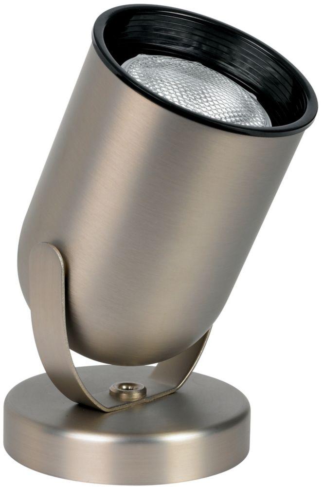 Lampe au sol ronde R/PAR20, nickel brossé