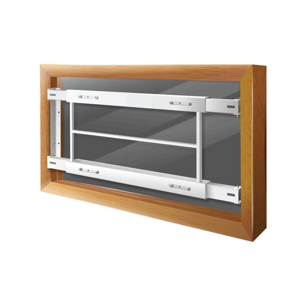 202 C 29-inch to 42-inch W Hinged Window Bar