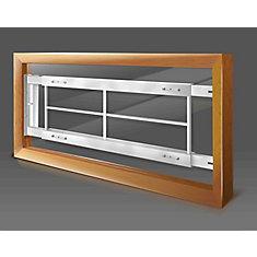202 C 42-inch to 54-inch W Hinged Window Bar