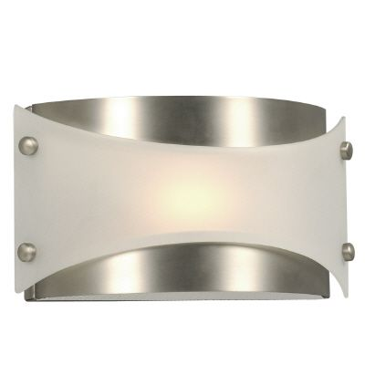 Wall Light With Frosted Glass