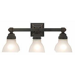 Madison Avenue Lighting & Fan Co Applique pour meuble-lavabo