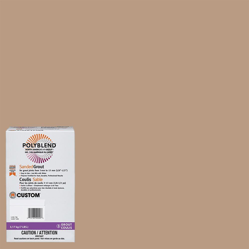 #180 Sandstone - Polyblend Sanded Grout - 7lb