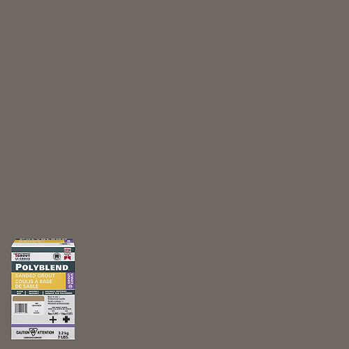 Custom Building Products #9 Natural Gray  - Polyblend Sanded Grout - 7lb