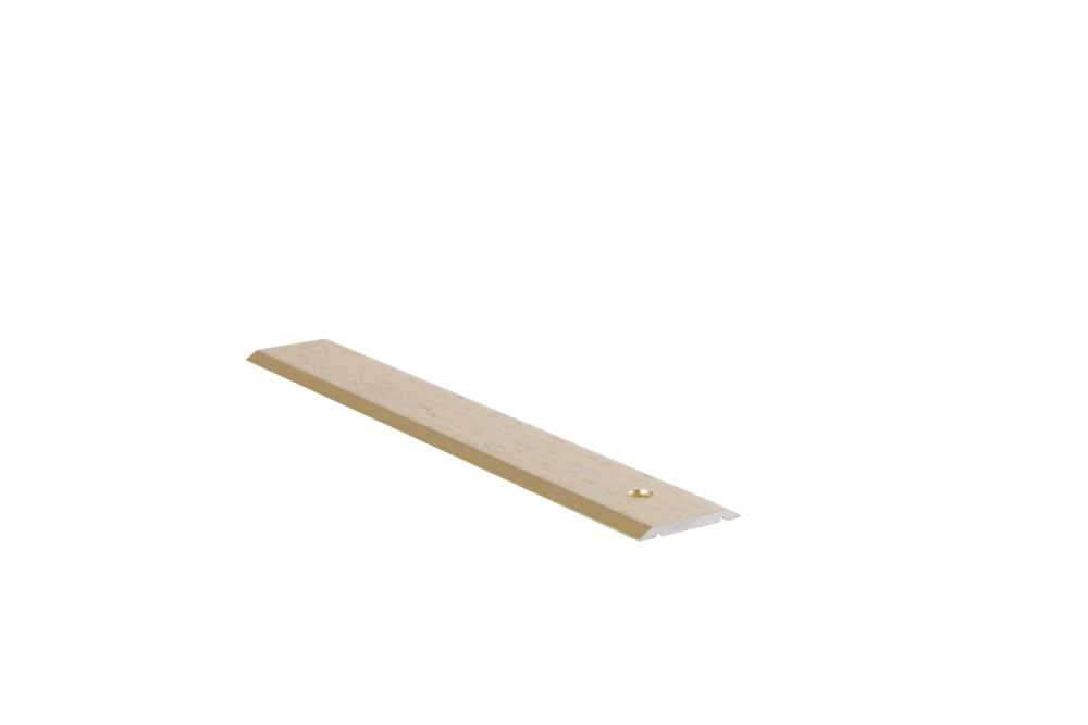 Seambinder Floor Moulding, Hammered Gold - 1 Inch