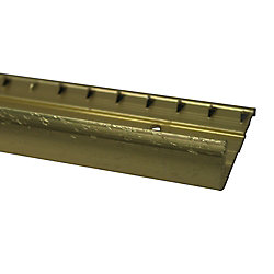 Shur Trim Carpet Edge Pinned, Hammered Silver - 3/4 Inch