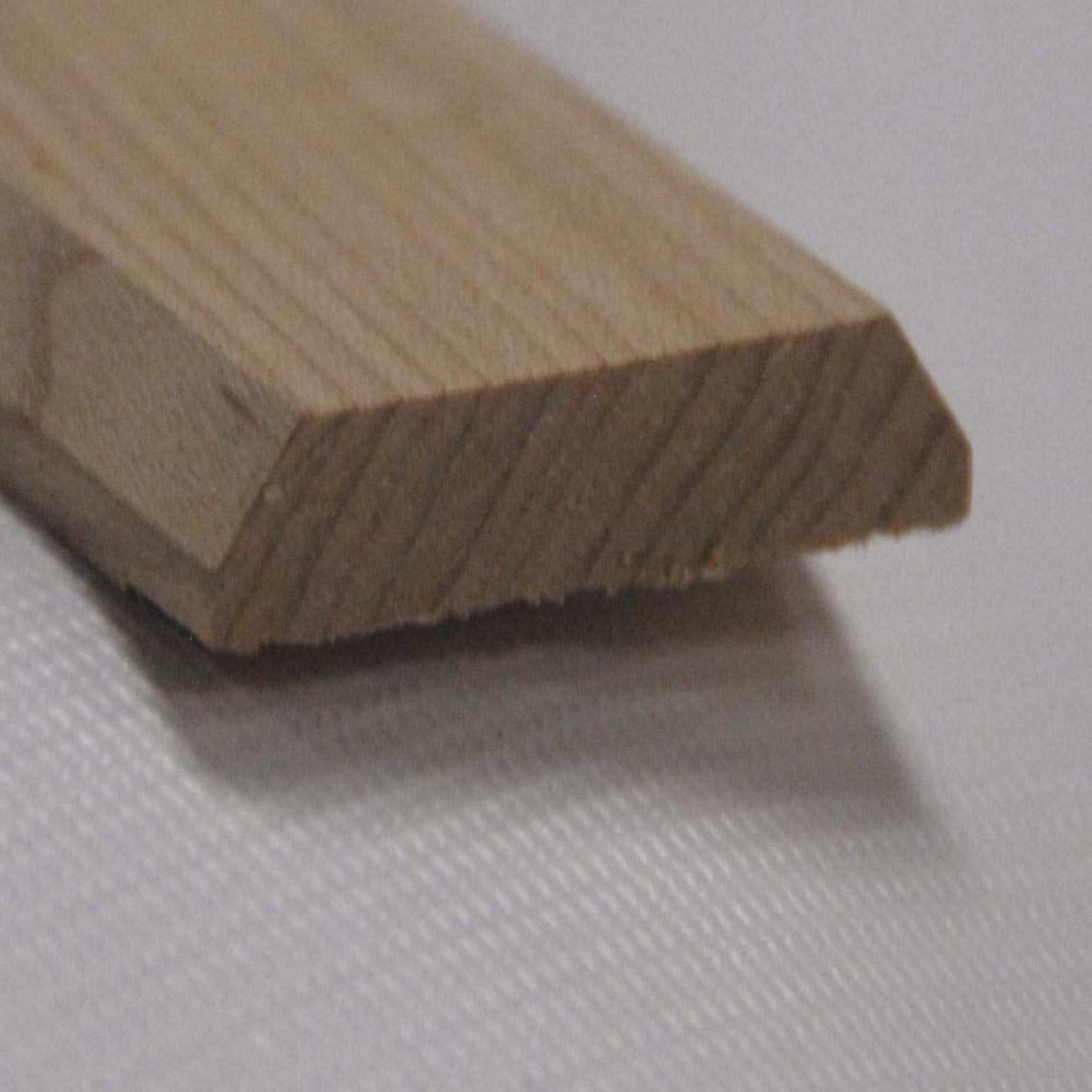 Bordure en chêne pour joint 1-3/4po