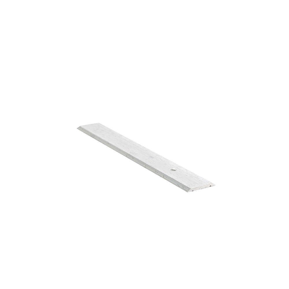 Shur Trim 1 Inch Seambinder - 12Ft - Hammered Silver