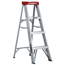 Featherlite Aluminum step ladder 4 Feet  grade III