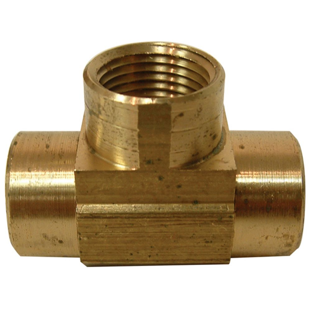 Watts cast brass female pipe tee the home depot canada