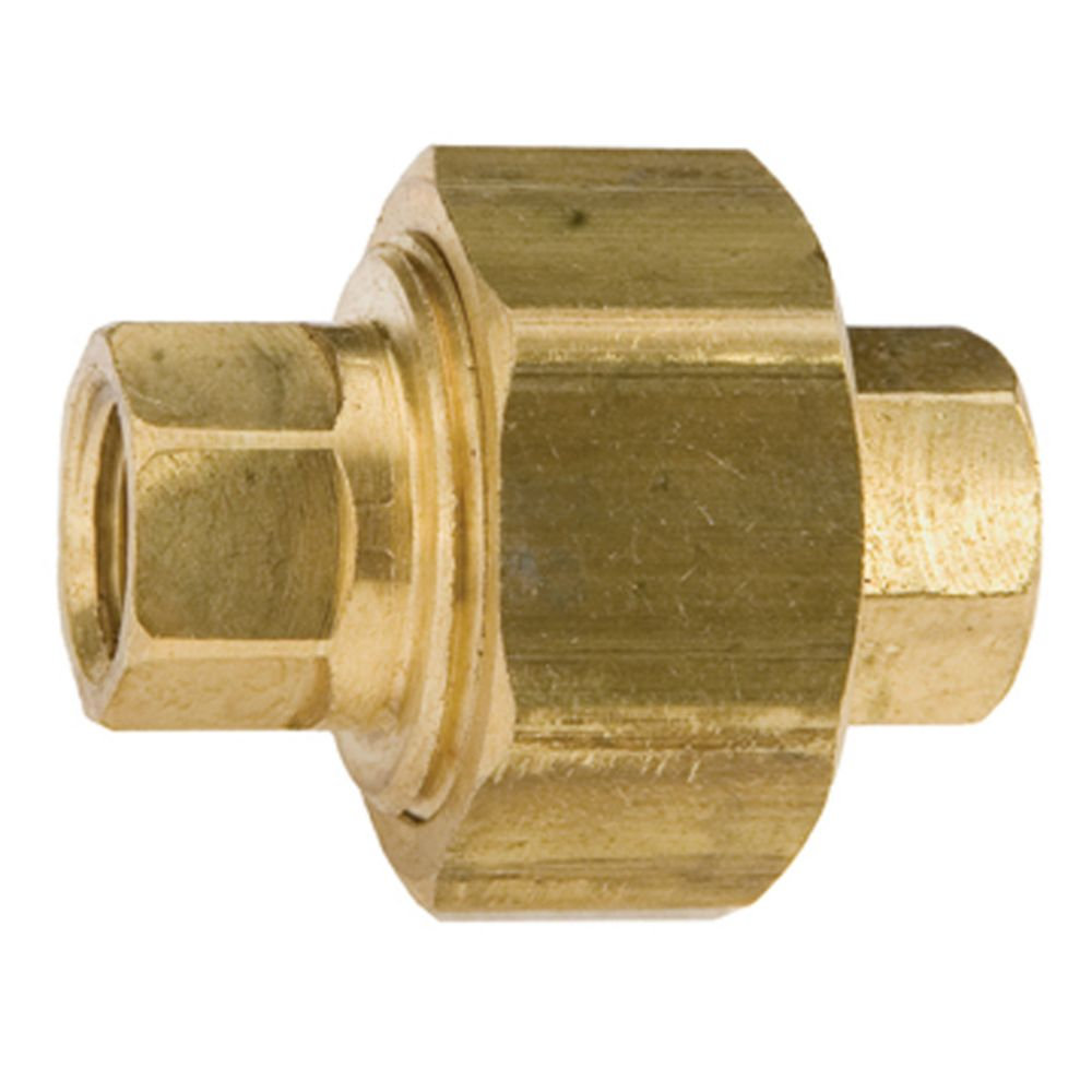 Watts cast brass female pipe union the home depot