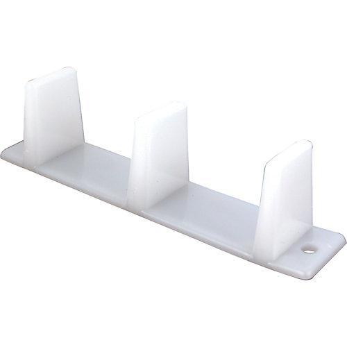 PrimeLine Guide En Nylon Au Plancher Pour Porte De Garderobe - Guide de porte coulissante