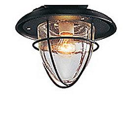Hampton Bay Ventilateur de plafond d'intérieur Palm Beach, fer doré, 48po, dispositif d'éclairage à une ampoule