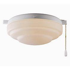 Fluorescent Ceiling Fan Light Kit - 10 Inch