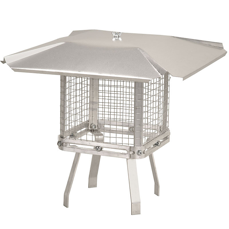 Imperial Universal Aluminum Chimney Cap The Home Depot