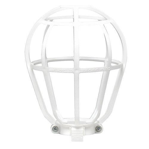 Leviton grille de protection pour ampoules blanc home depot canada