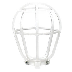 Leviton Guard Cage For Light Bulbs, White