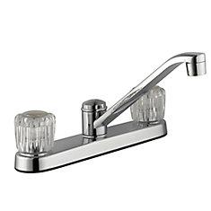 2 Handle Kitchen Faucet - Chrome