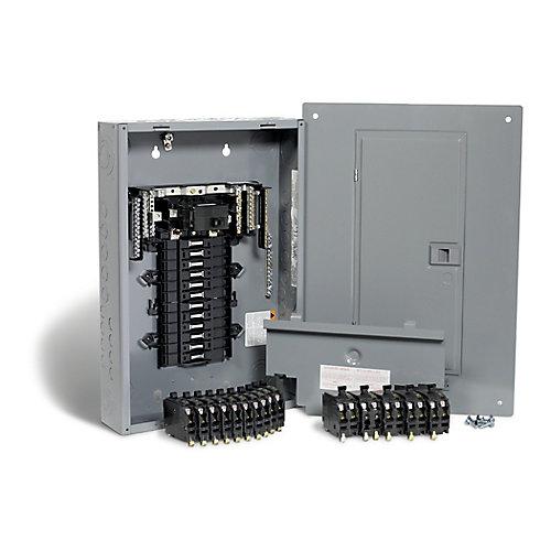 Square D 100 Amp 24 Spaces 48 Circuits Maximum Qwikpak Panel