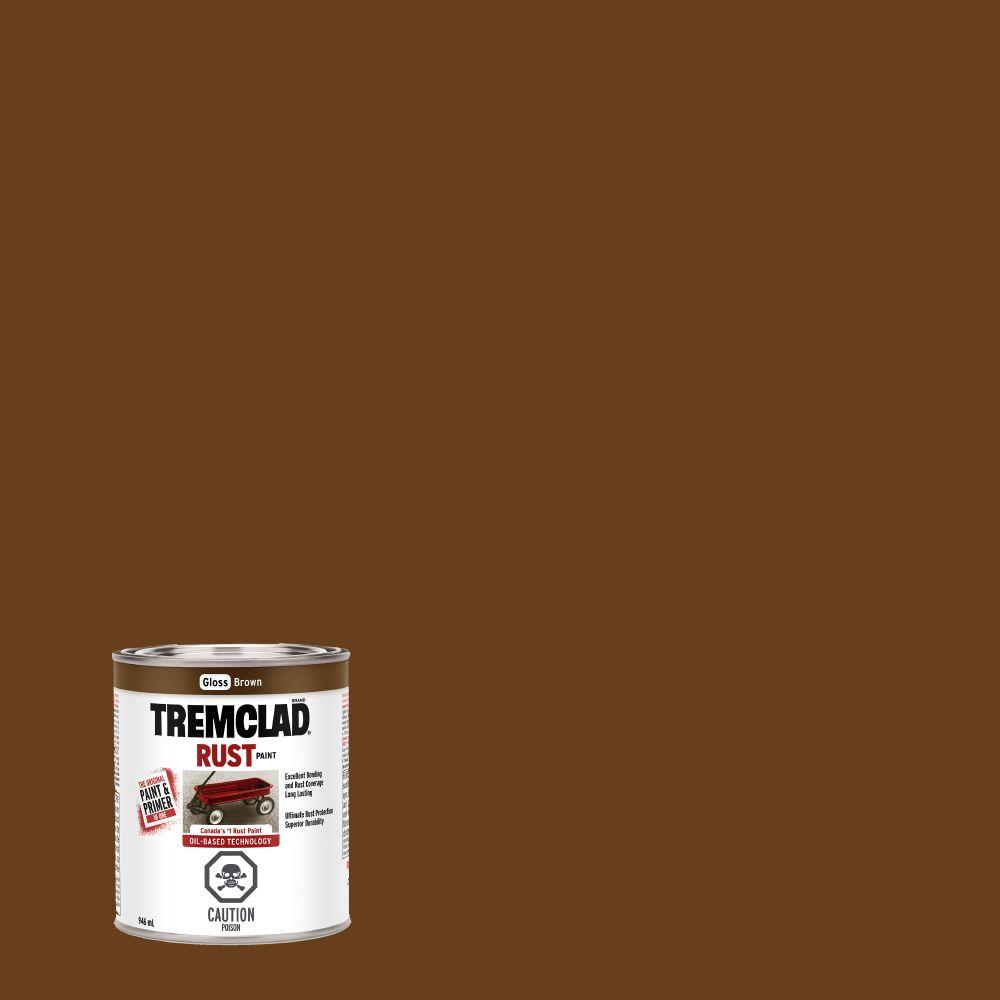 Peinture anti-rouille - Brun (946ml)