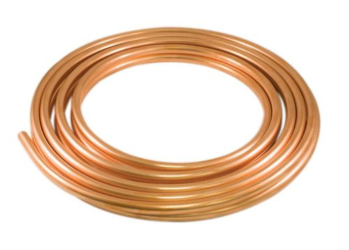 Copper Utility Coil 3/8 Inch x 10 Foot