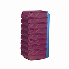 Small Red Bins - 8 Pack