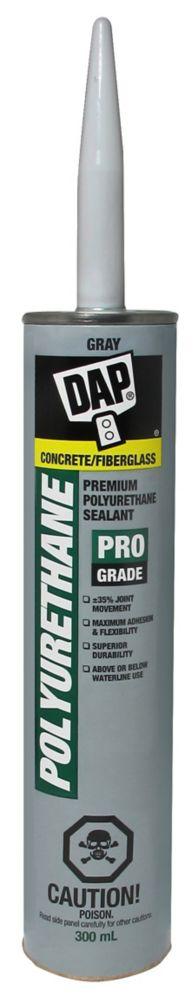 300ML, Slate Gray, Polyurethane Waterproof Concrete Sealant