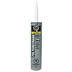 Premium White Polyurethane Construction Adhesive Sealant Exterior 300ml