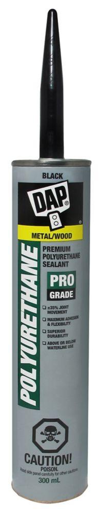 300ML, Black, Polyurethane Waterproof Roof and Flashing Sealant