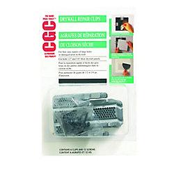 CGC Pince de réparation pour cloison sèche, paquet de 6
