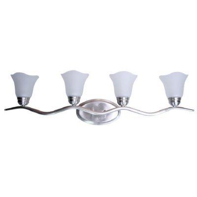 Éclairage de salle de bain Wave, 4 ampoules