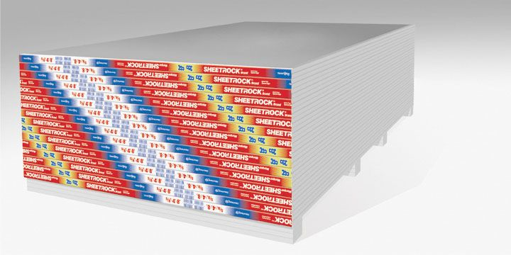 "5/8"" SHEETROCK Firecode Core (Type X) Drywall Gypsum Panel, 4' x 12'"