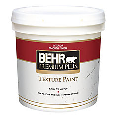 PREMIUM PLUS Texture Paint - Smooth Finish, 7.58L