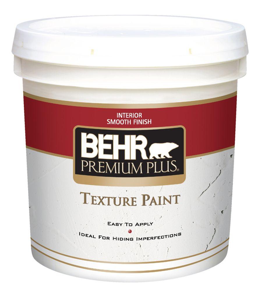 PREMIUM PLUS Peinture Texturée - Fini Lisse, 7,58L
