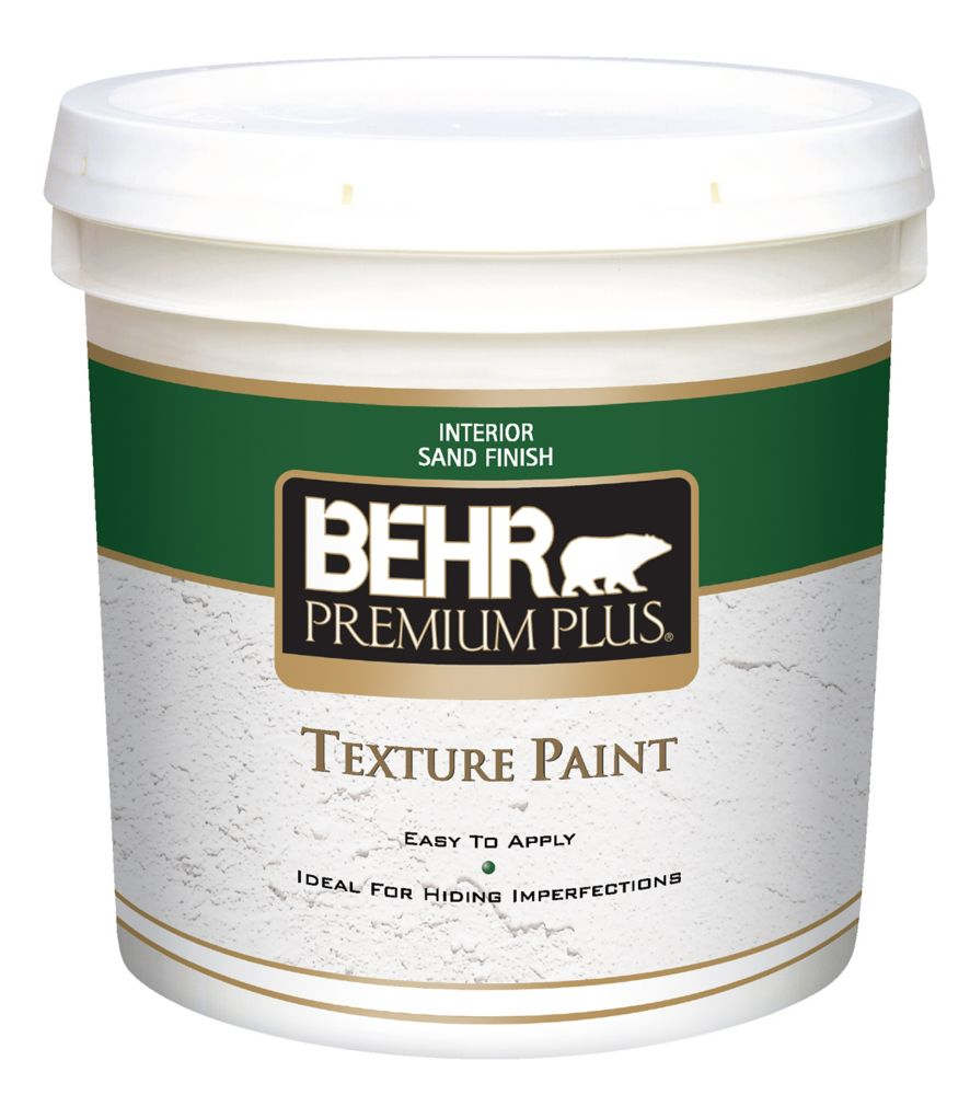 PREMIUM PLUS Texture Paint - Sand Finish, 7.58L