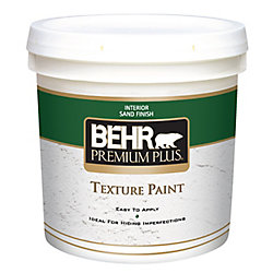 Behr Premium Plus PREMIUM PLUS Peinture Texturée - Fini Sable, 7,58L