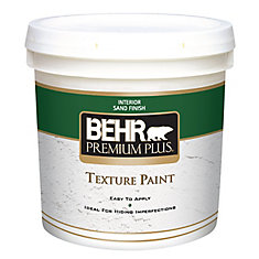 PREMIUM PLUS Texture Paint - Sand Finish, 7.58L