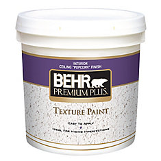 PREMIUM PLUS Texture Paint - Ceiling Popcorn Finish, 7.58L