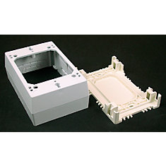 Non-metallic Starter/Outlet Box White