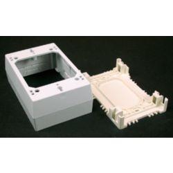Legrand Wiremold Non-metallic Starter/Outlet Box White