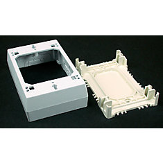 Non-metallic Deep Outlet Box White