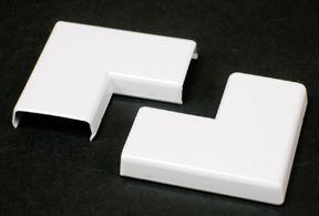 Nonmetallic Flat Elbow White