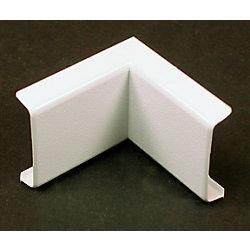 Legrand Wiremold Coude intérieur blanc.