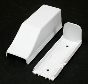 Nonmetallic Conduit Transition Connector White