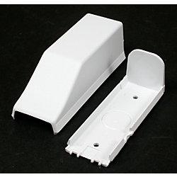 Legrand Wiremold Raccord de conduit blanc.