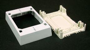 Nonmetallic Extra Deep Outlet Box  White